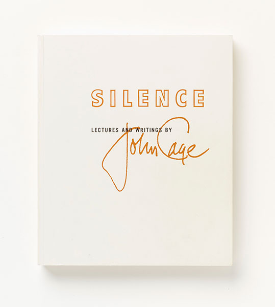 <em>Silence: Lectures and Writings by John Cage</em>, 1961