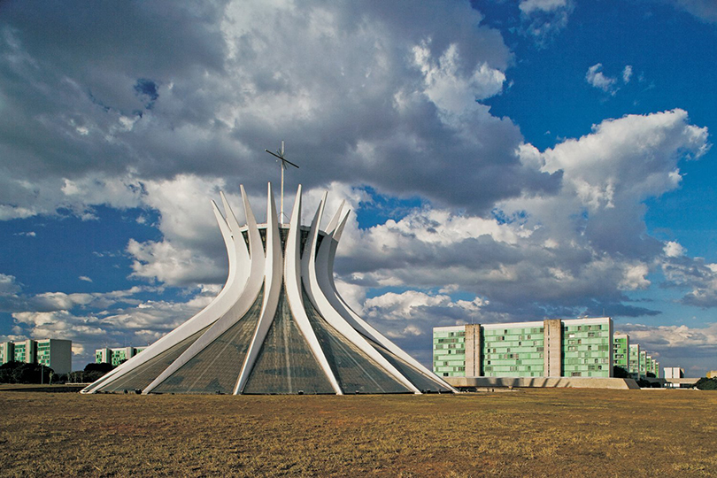 Cathedral, Brasilia, 1959-60.