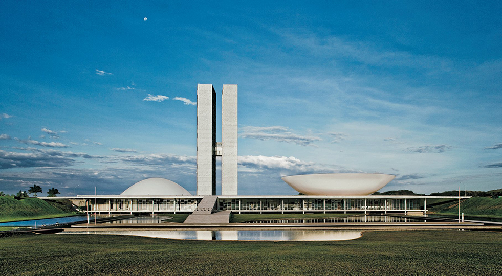 National Congress, Brasilia, Brasil, 1958.