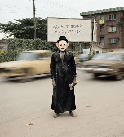 Pieter Hugo Escort Kama, Enugu, Nigeria, 2008 From the series Nollywood Digital C-Print  Pieter Hugo, Courtesy Yossi Milo Gallery, New York
