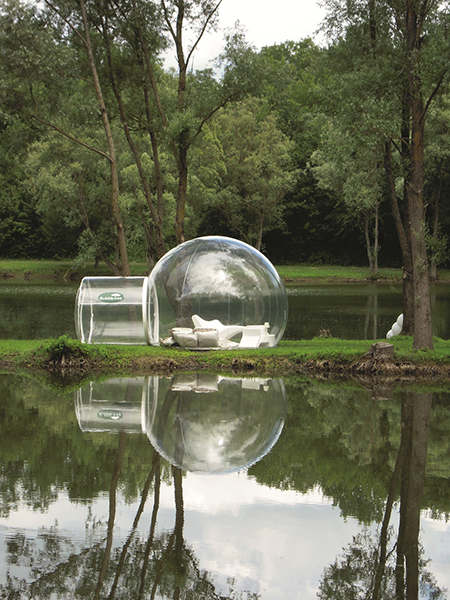 Cristal Bubble, 2007.  By Pierre Stephane Dumas.