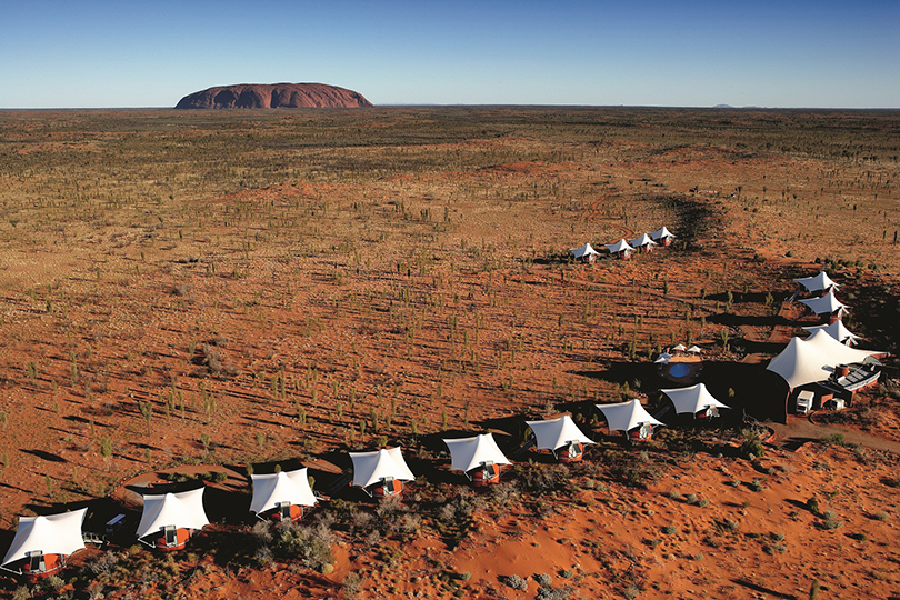 Longitude 131°, Uluru-Kata National Park, Australia, 2002.  By Phillip Cox.