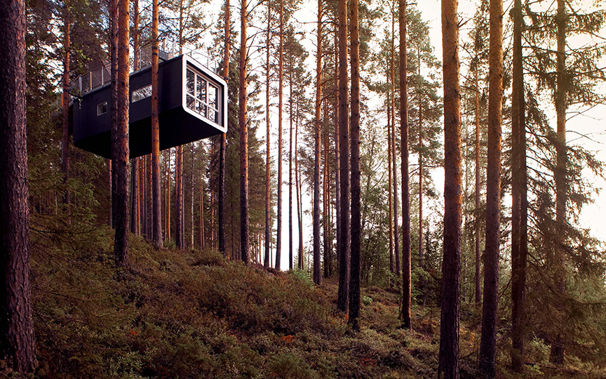 Treehotel, Harads, Sweden, 2010.  By Tham Videgård Architects.