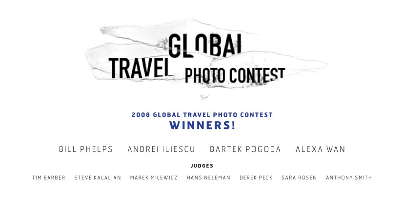 opener1 Global Travel Photo Contest