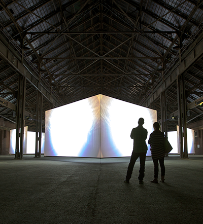 Doug Aitken, Altered Earth,  2012. Commissioned and produced by the LUMA foundation, photo © Robert Leslie.