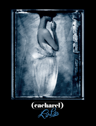 Advertisement for <em>Loulou</em>, Cacharel perfume, 1990. Photograph by Sarah Moon.