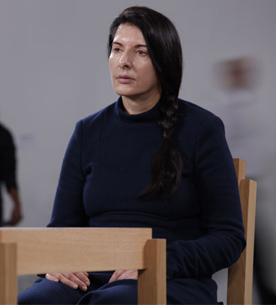 Marina Abramović. Photo Credit: David Smoler