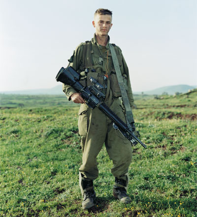 <em>Omri, Givatti Brigade, Golan Heights, Israel, March 29, 2000</em>