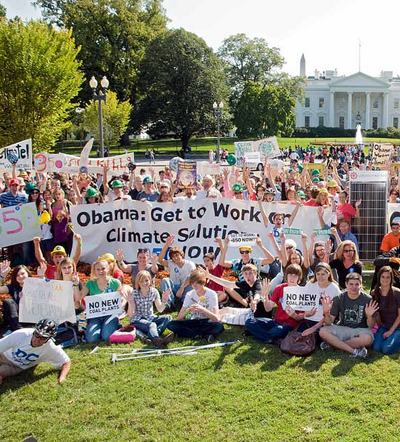 Global work party action in Washington D.C. by 350.org/Jim Dougherty