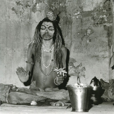 A Holy Man, Katmandu (1985). All photography by Rosalind Solomon. (Click image to enlarge)