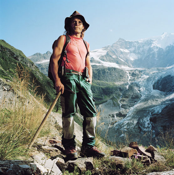 Christian Kaufmann, shepherd. Grindewald, Switzerland.