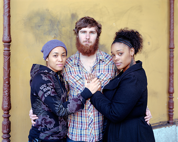 Tari, Shawn, and Summer, 2012, Los Angeles, CA